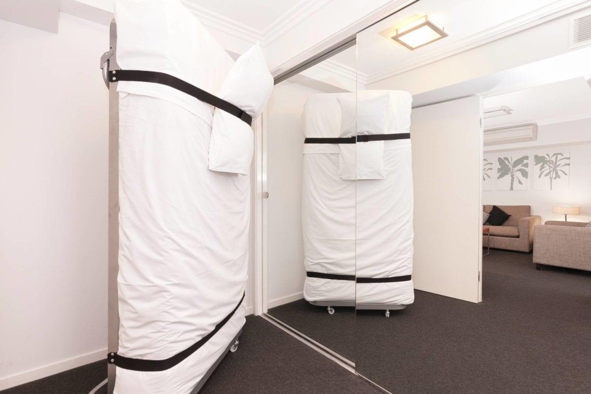 Hotel Chino Woolloongabba Brisbane Comfy Rollin Bed W Inner Spring Mattress