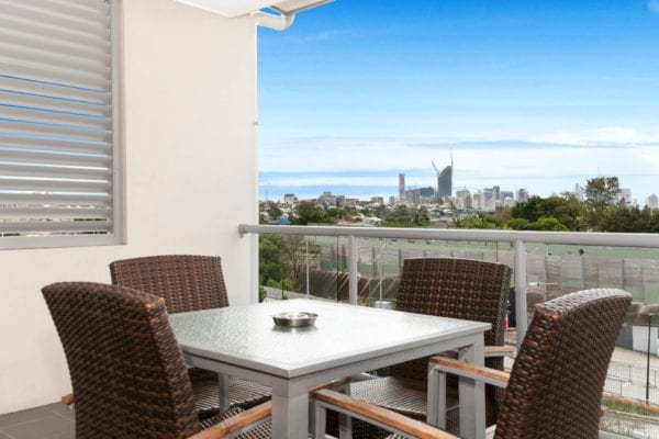 Hotel Chino Woolloongabba Brisbane One Bedroom Balcony