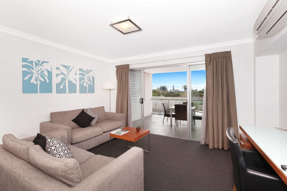 Hotel Chino Woolloongabba Brisbane Spacious One Bedroom W Balcony