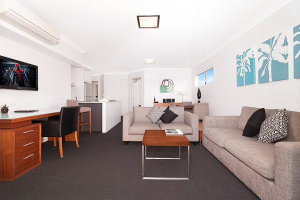 Hotel Chino Woolloongabba Brisbane One Bedroom Apt W Room To Move And Relax 2